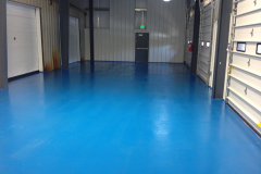 Blue Epoxy Flooring MD & PA